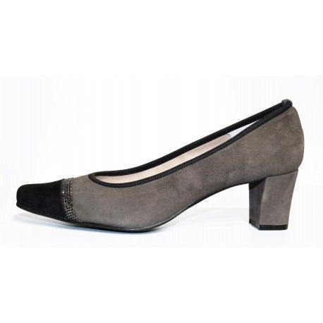 Cardel chaussure femme escarpin marron et noir à découvrir www.cardel-chaussures.com