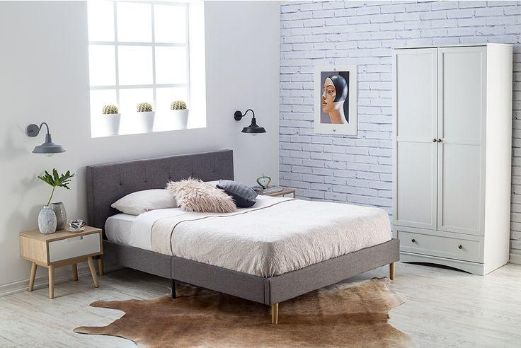 Grises y blancos, la perfecta inspiración para el estilo nórdico. #Muebles #Easytienda #Decoración #Combinaciones