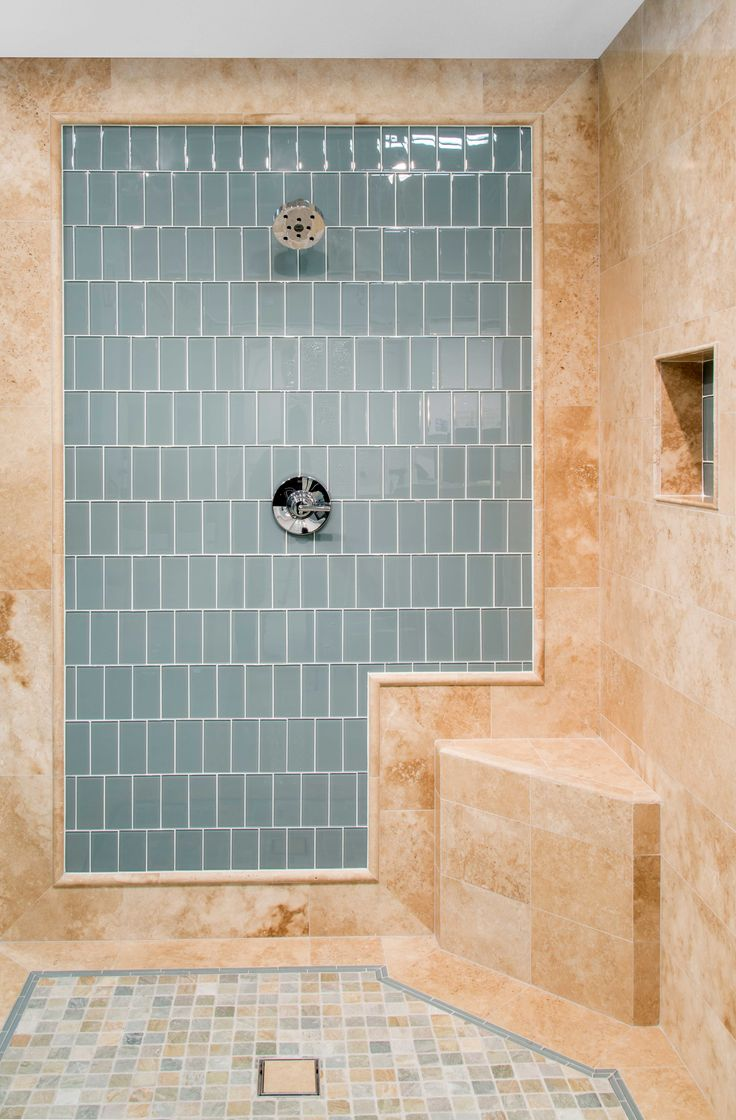 Luxury 12x24 Tile In A Small Bathroom Crest - Inspiration Bathrooms ...