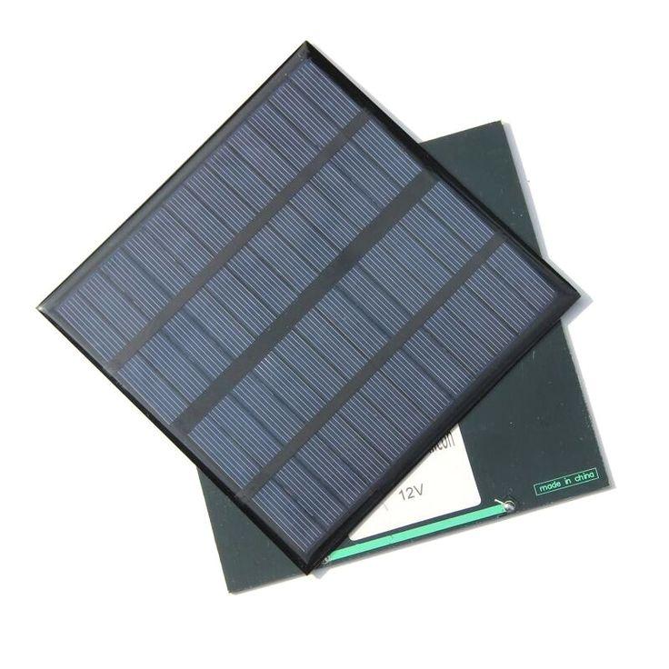 BUHESHUI High Quality 3W 12V Polycrystalline Small Solar Panel Mini Solar Cell Education Kits DIY Solar Toys/System 145*15MM