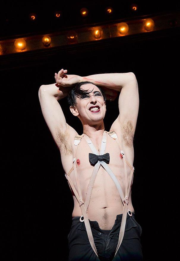 Cabaret - SHow Photos - Alan Cumming  get our app https://play.google.com/store/apps/details?id=com.wgaydatingtips