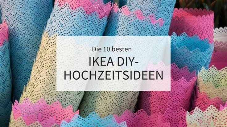 Die 10 besten IKEA DIY-Hochzeitsideen