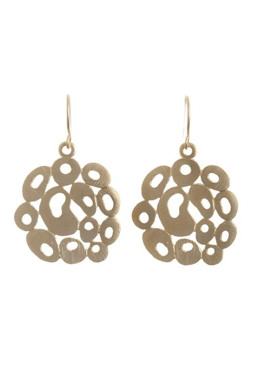 BUBBLE EARRINGS- A$40.00 Matte silver/gold plated 'bubbles' attached to matte silver/gold plated hooks. Dimensions: approx diameter 26mm