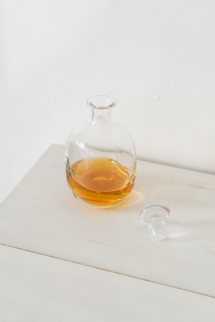 Modern Decanter - Designed as a whiskey decanter, we've found ourselves using this gently shaped vessel for much more. With a subtly squashed oval shape, each decanter is made us - from QUITOKEETO.com