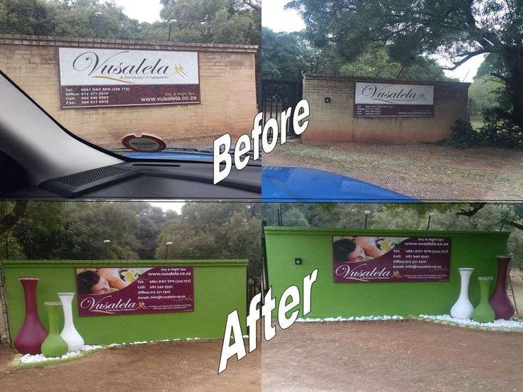 DON'T DRIVE PAST! We have redone our entrance!  Vusalela is looking good! We love upgrading the spa, and use every opportunity to make Vusalela the best spa yet! Look out for more......