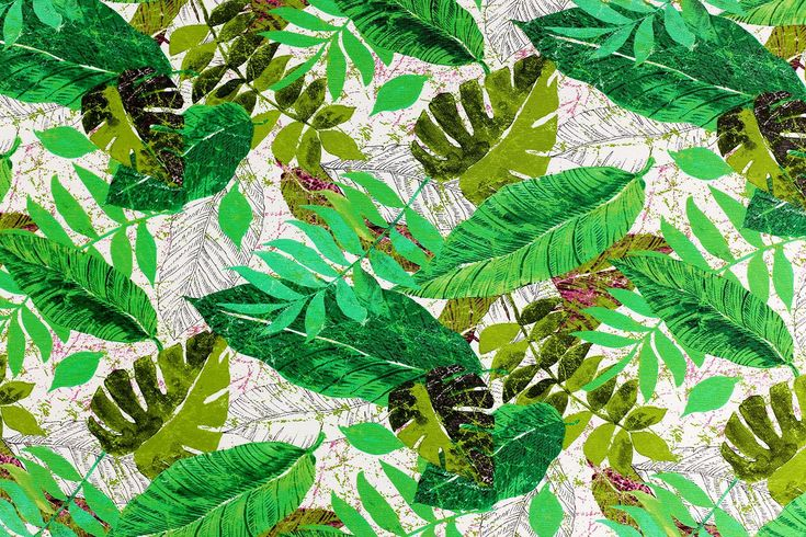 Botanisch Decoratiestof - Stoffenfeest!