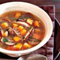 Mushroom Soup with Winter Vegetables