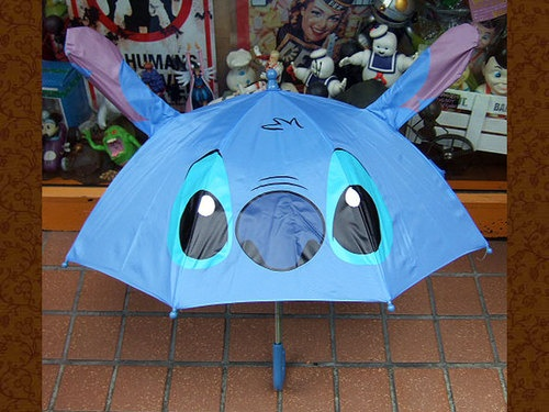Disney Lilo and Stitch Kids Umbrella Japan Exclusive Blue | eBay
