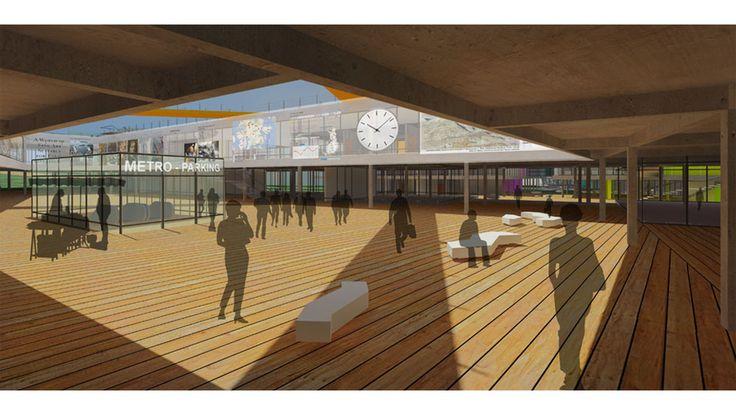 """Networked tissue"" Aalto university 2015 // MONOLAB architects"