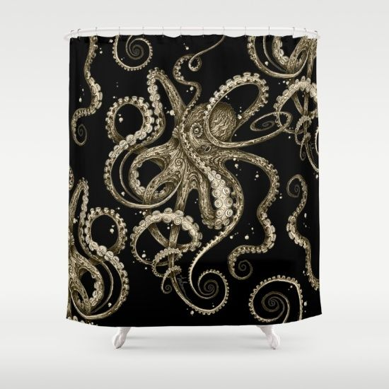 octopus shower curtain urban outfitters 106 best our home things images on 140