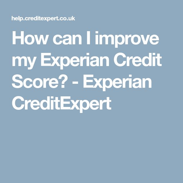 Best 25 experian credit ideas on pinterest mortgage tips how can i improve my experian credit score experian creditexpert ccuart Image collections