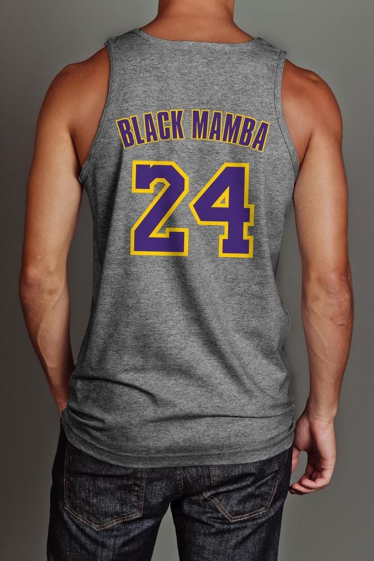 Black Mamba shirt #LakeShow