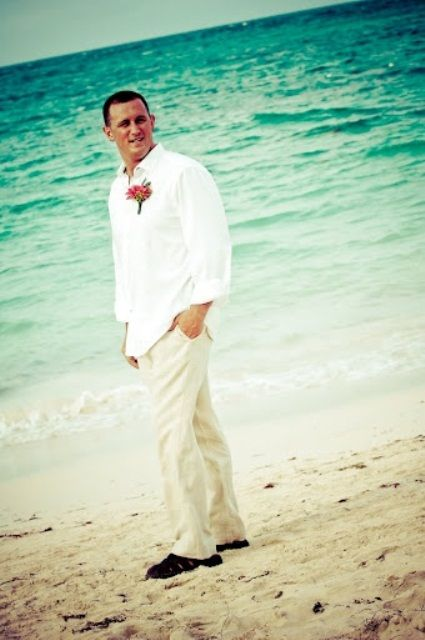 46 Cool Beach Wedding Groom Attire Ideas Weddingomania