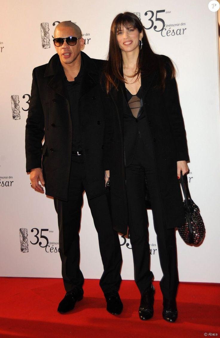 JoeyStarr et Maïwenn lors de la cérémonie des César en 2010