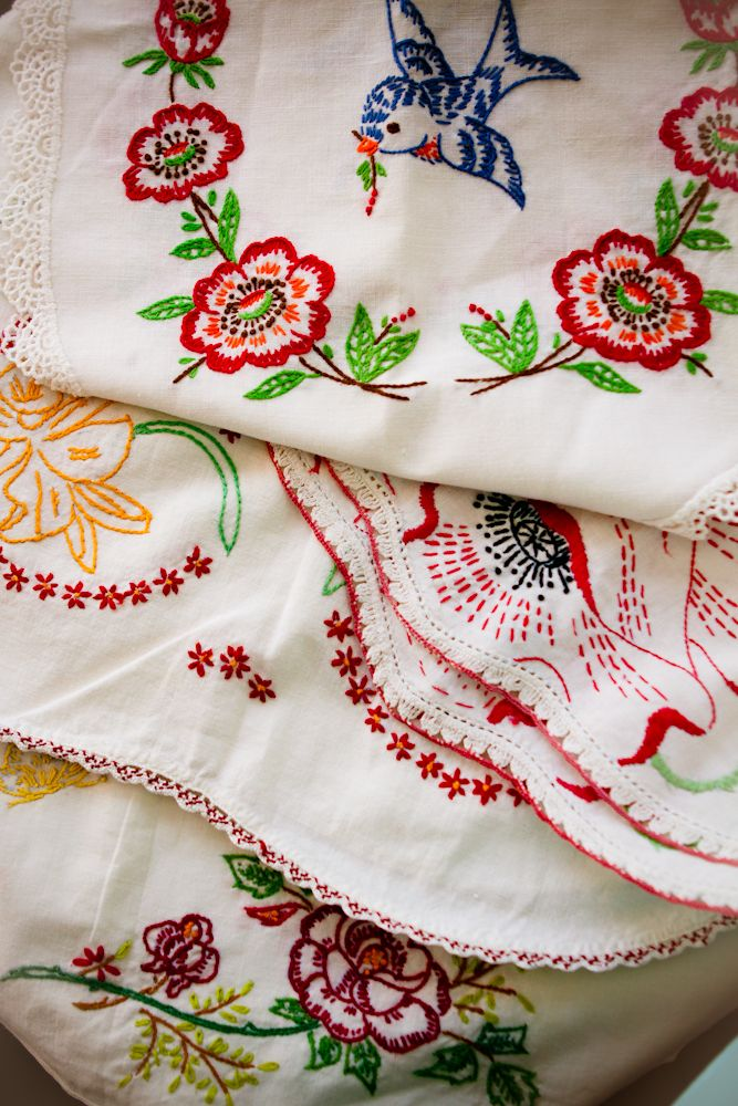 vintage embroidery--love it!