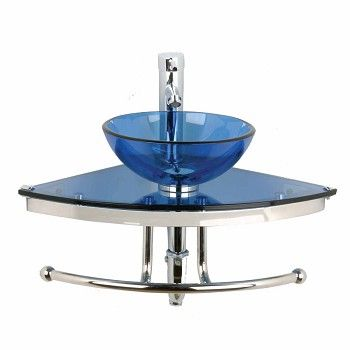 1000 images about corner sinks on pinterest wall mount pedestal and glass sink