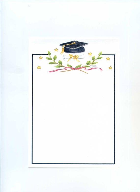 Classic Graduation Invitations Victory Emblem Flat Blank Box Of 10 By Audrey Ascenzo Graduation Invitations Template Graduation Invitations Graduation Signs