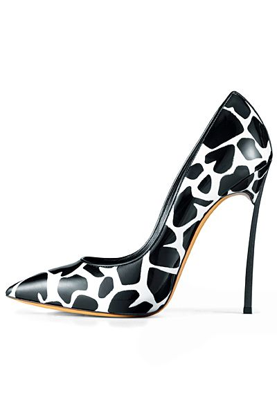 Casadei Giraffe Print Blade Pumps Resort 2014 €600 #Shoes #Heels #Stilettos
