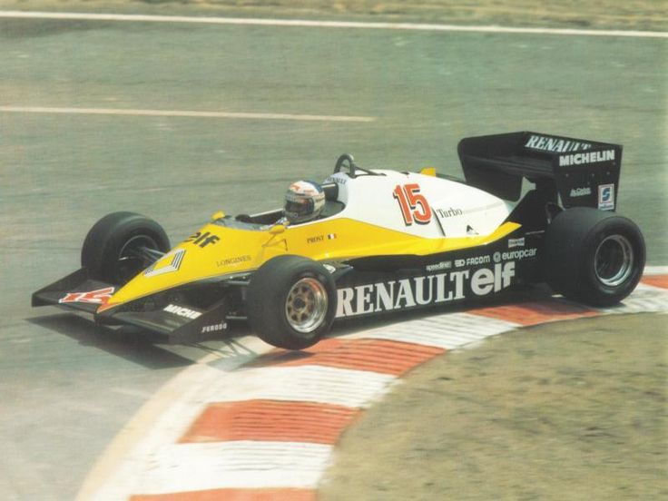 1983 Spa-Francorchamps Elf Renault RE40 Alain Prost