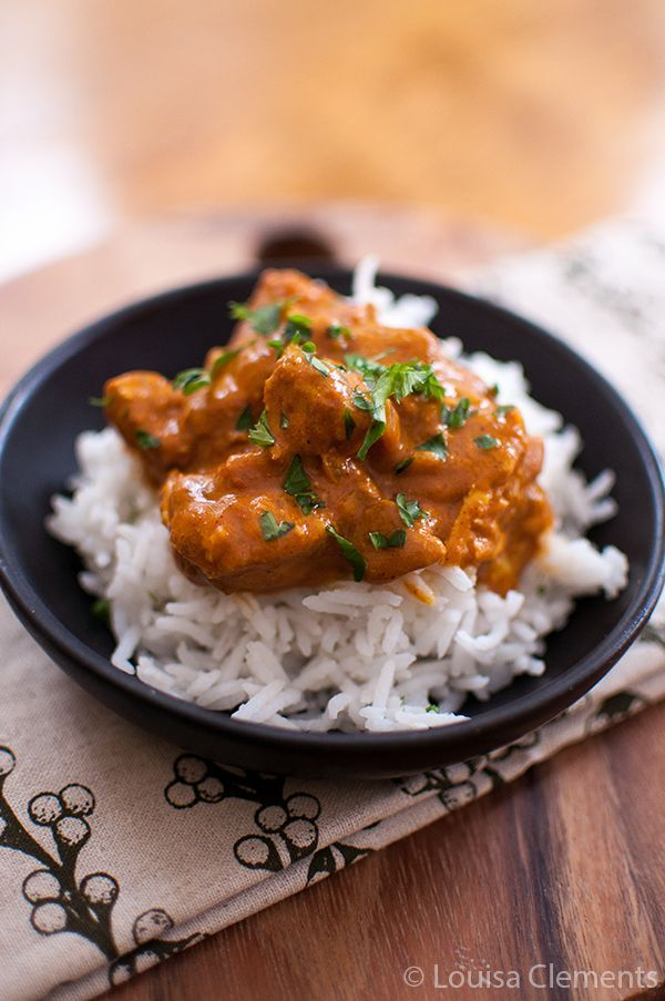 Slow Cooker Butter Chicken. 8/10 I thought it could be thicker but in all fairness i used a 400ml can of coconut milk instead of 1 cup.