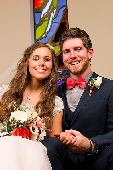 Jessa Duggar Breaks Tradition With A Blush Dress and NO First Kiss......WHAT!?!?!?!?!?!?!?!?!???