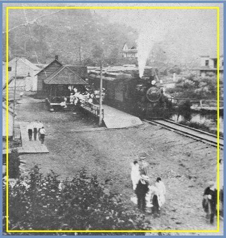 SIXTEEN ISLANDS LAKE Que. - Canadian Northern Railway p1912