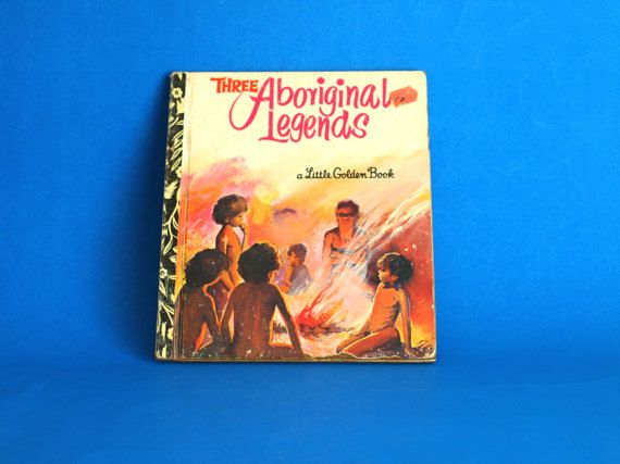Three Aboriginal Legends Story Book  A Little Golden by FunkyKoala