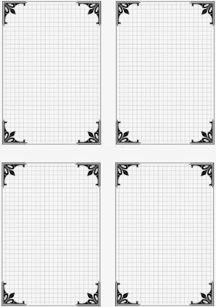 Мини-открытки шаблоны для распечатки