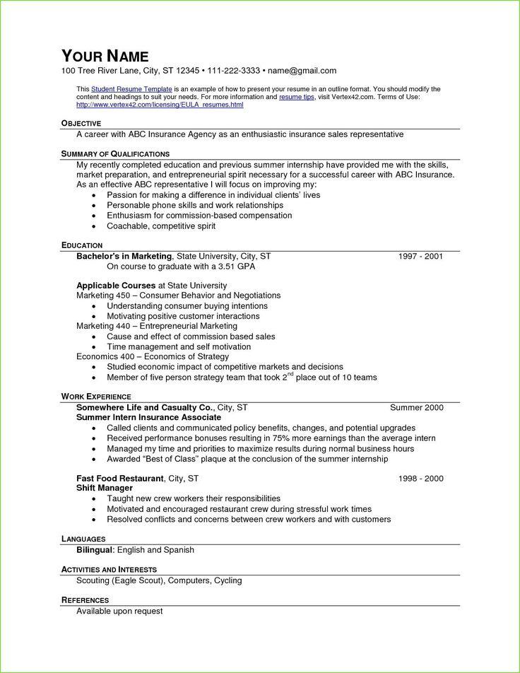 Fast food worker resume resume template examples resume