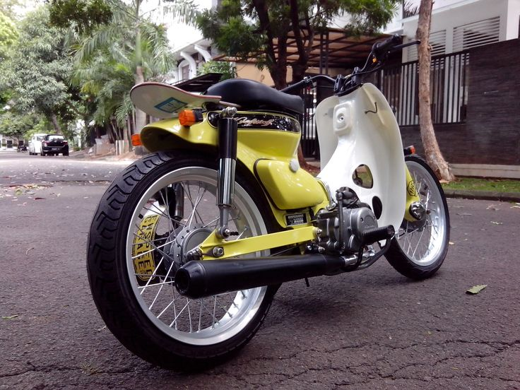 Street cub by newspeed garage bagoth motorcycle for Garage modification