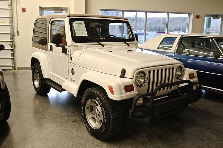 1999 Jeep Wrangler Sahara Edition SOLD! late model