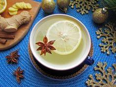 Пряный имбирный чай с лимоном, рецепт с фото.