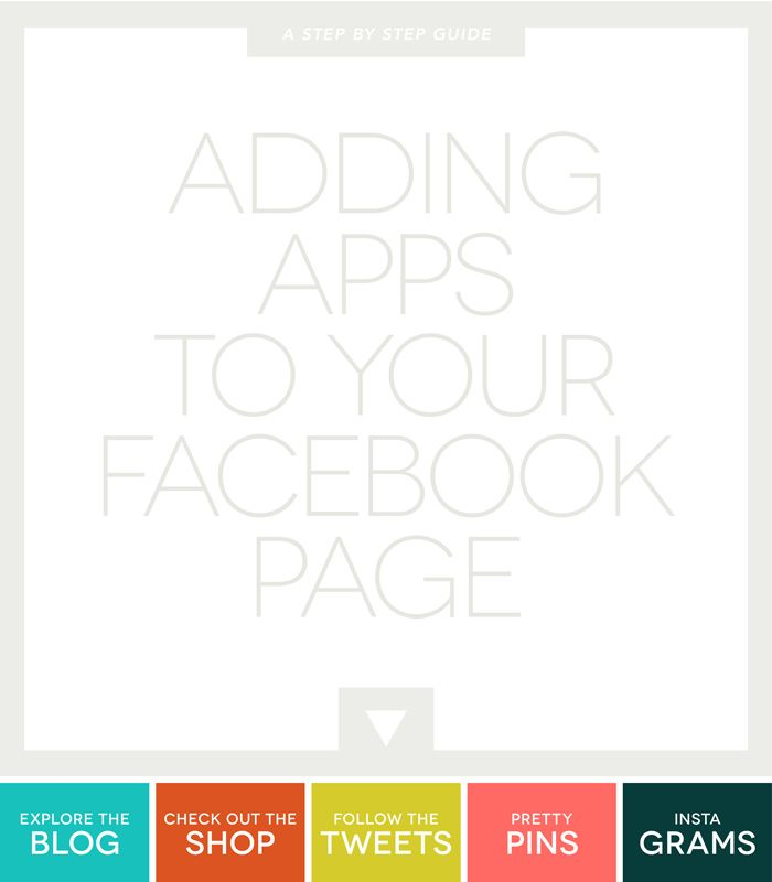 Adding Apps on Facebook