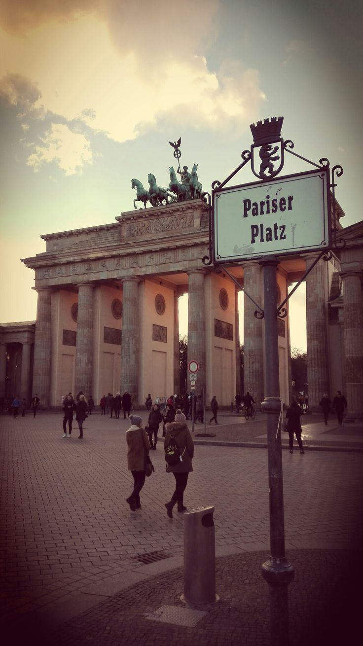 Pariser Platz in Berlin, Germany. A lovely place :)