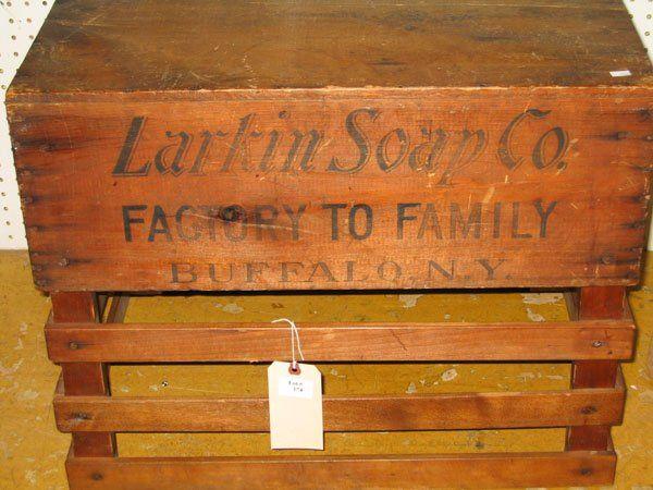 174: LARKIN SOAP CO. CRATE on in 2019   Soap company ...