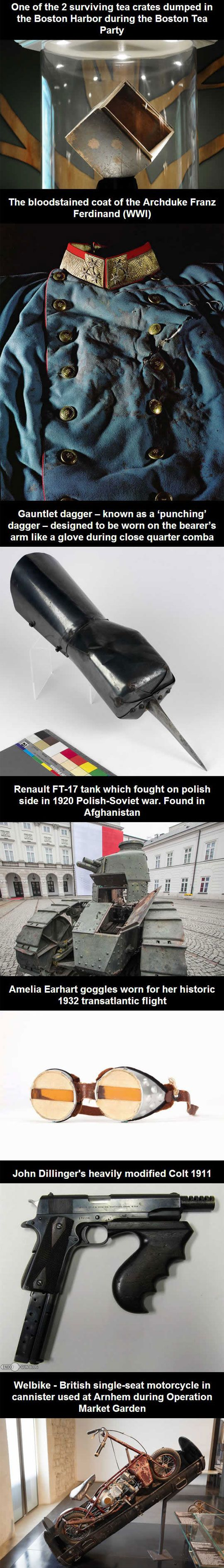 These Objects Really Changed History