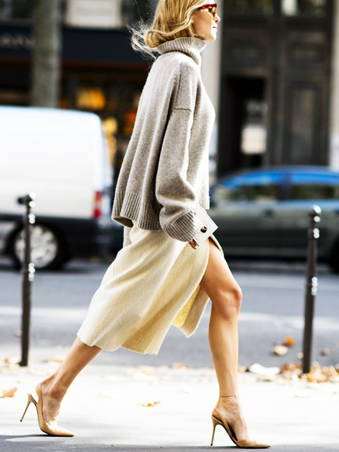 The Type of Sweater That's Least Likely to Pill via @WhoWhatWear