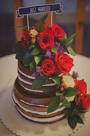 твидовая свадьба, торт