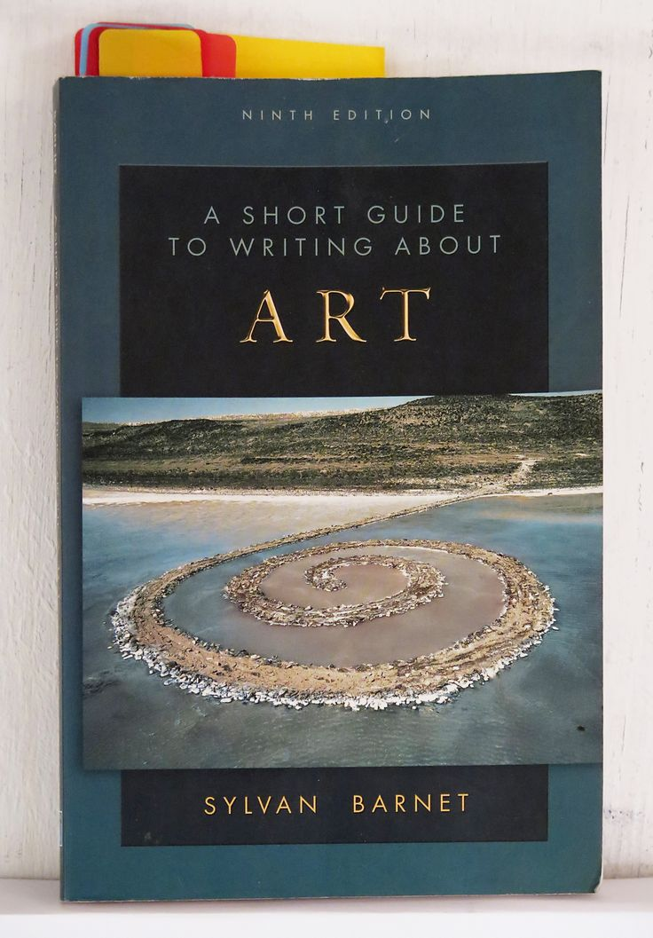 Short guide to writing about art sylvan barnet pdf file