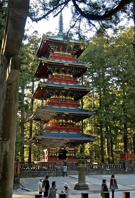 Pagoda in Nikko, Japan