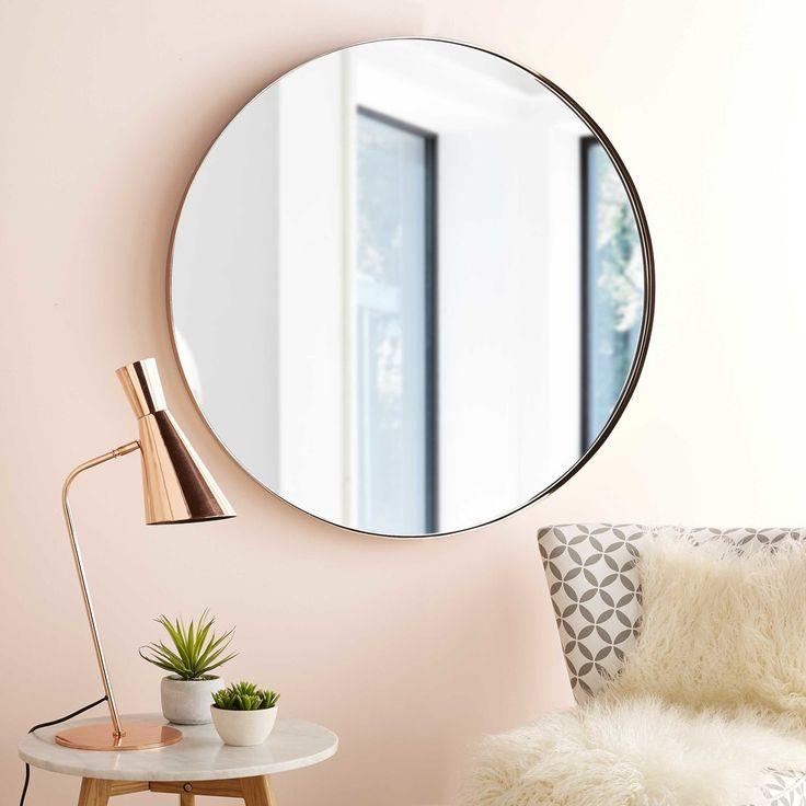 Best 25 metal mirror ideas on pinterest for Miroir hexagonal cuivre