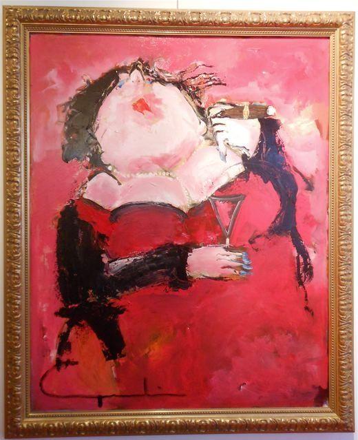 Gerdine Duijsens - Monica 95 x 112 cm