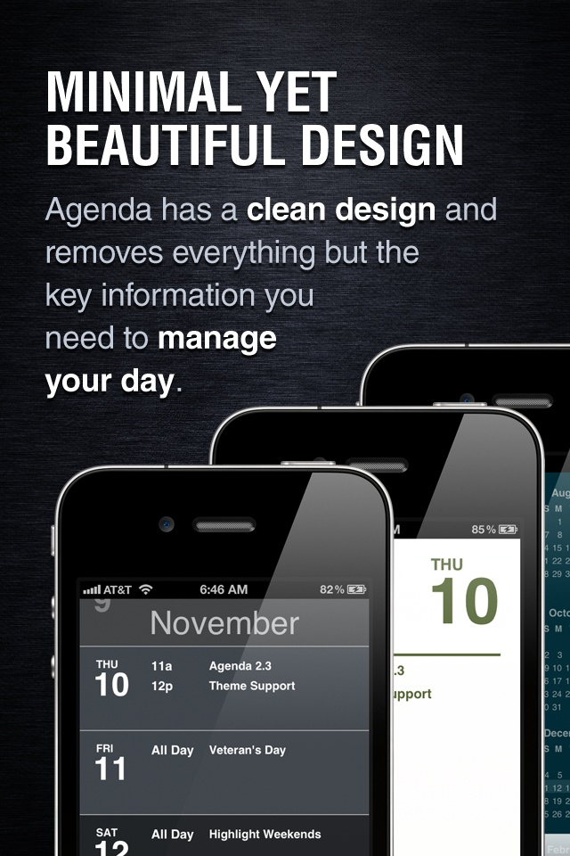 Like this a lot. Much more streamlined than the Apple calendar.