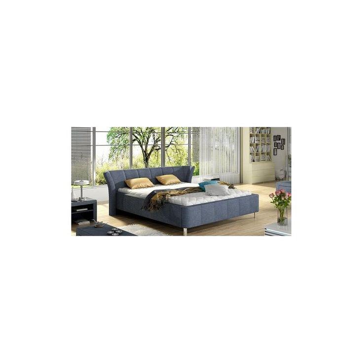 Nowoczesne łóżko do sypialni Gent