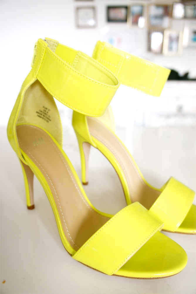 New neon shoes