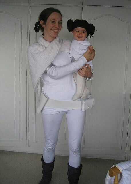 Star Wars Mother Daughter Padme Leia Cosplay Costumes