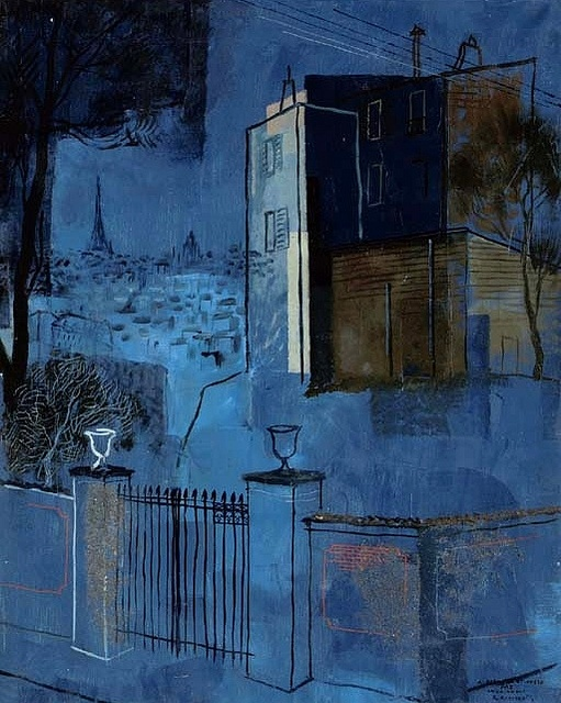 Annenkov, Yuri (1889-1974) - Paris (Christie's London, 2006) by RasMarley, via Flickr