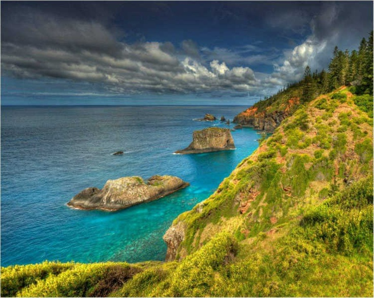 The light on Norfolk Island is a photographer's dream
