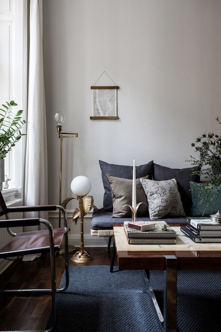 A Small Swedish Space, That's Big on Cosiness!