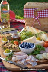 Late Summer Charcuterie Picnic